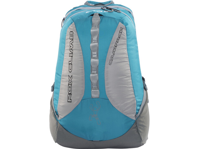 Camp Rox Climb Rugzak, petrol blue/grey